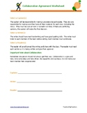 Collaboration Agreement Sheet