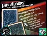 Collaborative Art Installation: Gradient Sculptures! Middle School & High School
