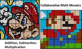 Collaborative Basic Math Mosaics, Mario Old & New (2 versi
