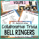 Collaborative Bell Ringers - Team Trivia, Puzzles, and Riddles (Volume 1)