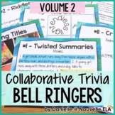 Collaborative Bell Ringers - Team Trivia, Puzzles, and Riddles (Volume 2)