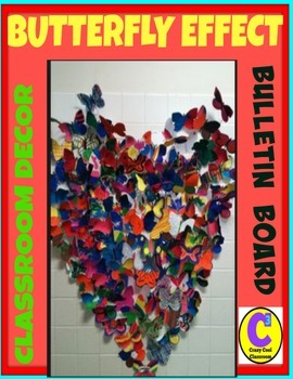 Collaborative Bulletin Board and Class Decor - Buttery Effect