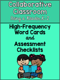 Collaborative Classroom Being a Reader K-2 Word Cards & Assessment Checklists
