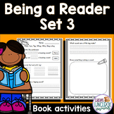 Center for Collaborative Classroom - Being a Reader: Set 3 Book Activities