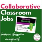 Collaborative Classroom Jobs | Cactus Classroom Decor