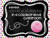 Collaborative Classroom Planning