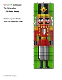 Collaborative Colour-by-Number Nutcracker, 24 Sheet Mosaic