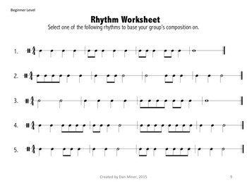 Collaborative Composition: Notation