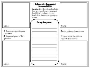 Unit 5 test journeys teaching resources teachers pay teachers collaborative constructed response grade 3 unit 5 hmh journeys fandeluxe Image collections