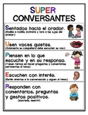 Collaborative Conversation Anchor Charts in Spanish and English