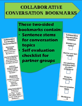 Collaborative Conversation Bookmarks with Self Evaluation