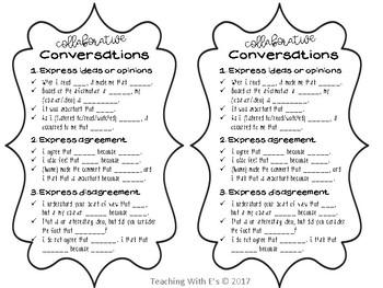 Collaborative Conversation Desk Tags
