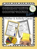 Collaborative Conversation Rules Posters and Activity Cards FREE