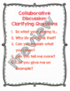 Collaborative Conversation Strategy Anchor Charts