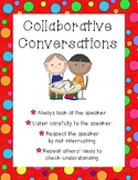 Collaborative Conversations Poster Anchor Chart