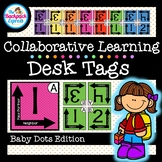 Collaborative Desk Tags For Grouping and Partner Learning   Baby Pokladots