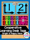 Collaborative  Desk Tags For Grouping and Partner Learning