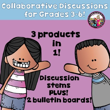 Collaborative Discussions 3 Products in 1!