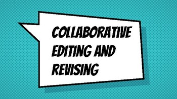 Collaborative Editing and Revising Protocol