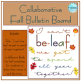 Collaborative Fall Bulletin Board