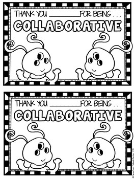 Collaborative - Go Character Ed - Positive Behavior Traits
