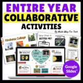 Collaborative Google GROWING BUNDLE- Martin Luther King Jr   Kindness Challenge