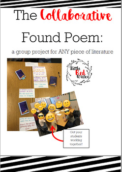 Collaborative Group Found Poem