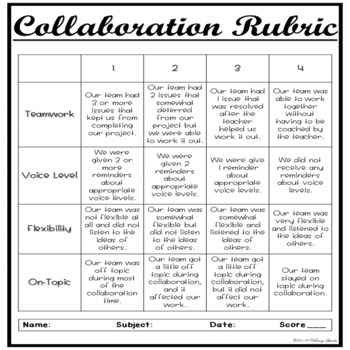 Collaborative Group Roles