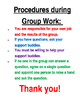 Collaborative Group Work Interactive Notebook/Class Anchor Charts