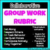 Collaborative Group Work Rubric & Posters