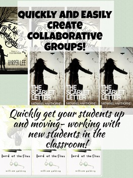 Collaborative Grouping Cards for Creating New Student Groups