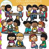 Classroom Collaborative Learning School Clip Art