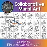 Collaborative Mural Art: The Alphabet