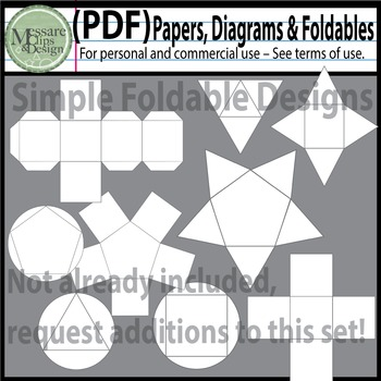 "Collaborative PDF's ""Papers, Digrams and Foldables"" {Messare Clips and Design}"