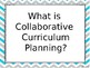 Collaborative Planning Professional Development PowerPoint Presentation