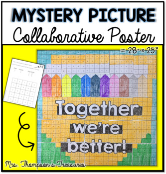 Collaborative Poster Mystery Picture