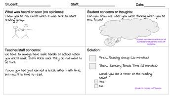Collaborative Problem Solving Data Record Sheet