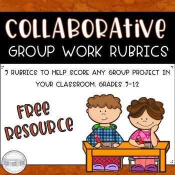Collaborative Project Rubrics