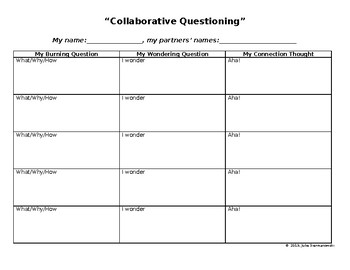 Collaborative Questioning