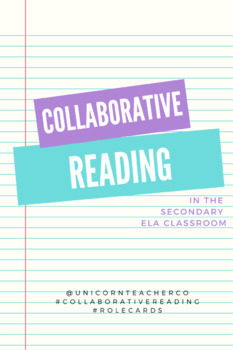 Collaborative Reading-- EVERYTHING YOU NEED!