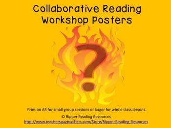 Collaborative Reading Workshop Charts