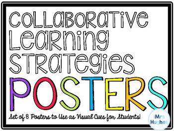 Collaborative Strategies Classroom Posters