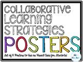 Collaborative Strategies Classroom Posters