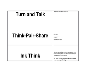 Collaborative Strategy Cards