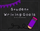 Collaborative Student Writing Goals