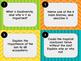 Collaborative Talk Cards - Ecosystems