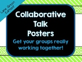 Collaborative Talk Posters:  Stems to help your students w