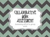 Collaborative Work - Group Assessment