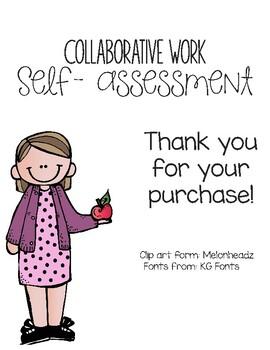 Collaborative Work Self-Assessment