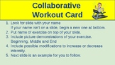 Collaborative Workout Card